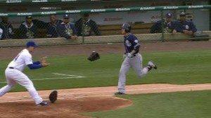 Cubs-Lester-Glove Throw