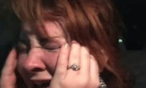Jurassic World wife cries